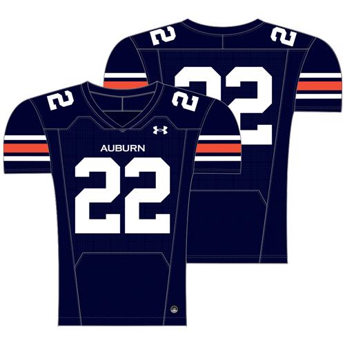 Navy Auburn Football Jersey