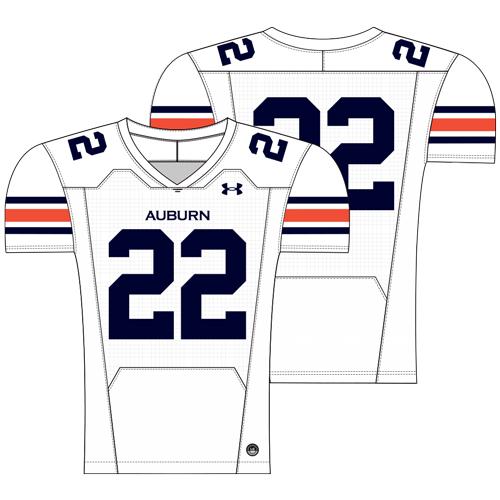 White Auburn Football Jersey